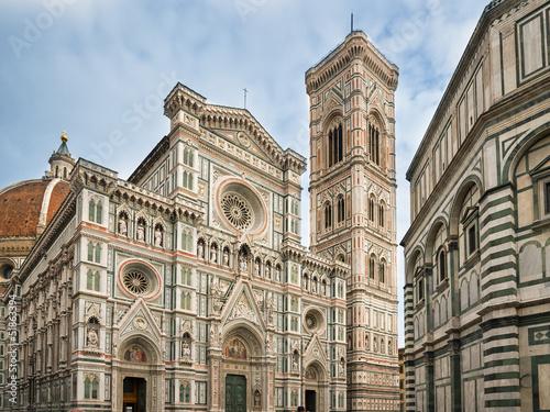 Fotografie, Obraz  Florence cathedral, Tuscany, Italy