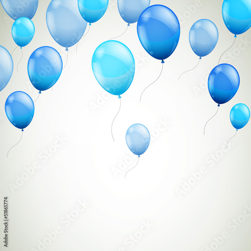 wektorowa-ilustracja-abstrakcjonistyczny-tlo-z-blekitnymi-balonami