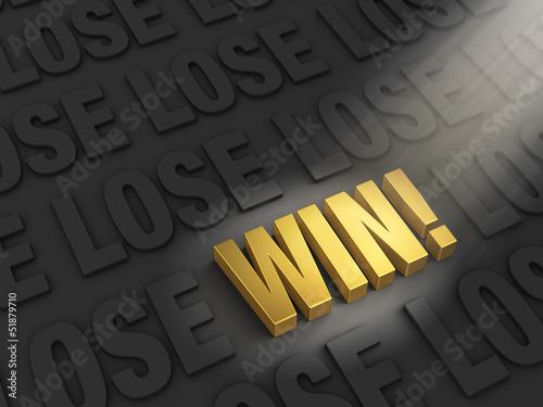 Fotografie, Obraz  You Can Win!