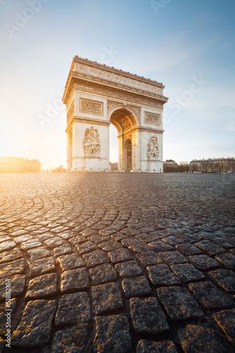 Valokuva Arc de Triomphe Paris France
