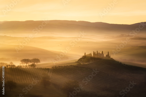 Tuinposter Toscane Toscane Italie