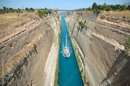 Valokuva  Canal de Corinto