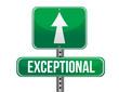 exceptional road sign illustration design
