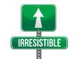 irresistible road sign illustration design