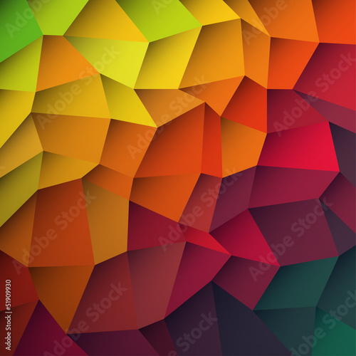 Abstract colorful patches background. Vector, EPS10 - 51909930