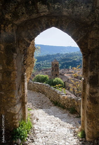 Foto op Plexiglas Toscane Rustic View to the Old Town