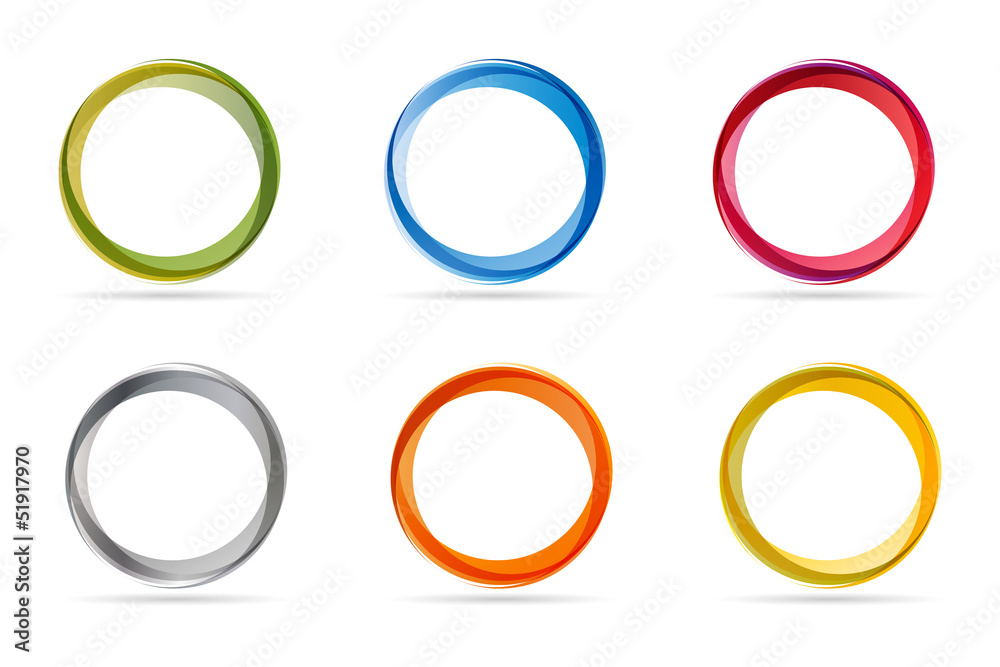 Fototapeta Circles