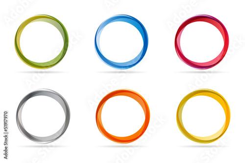 Circles - fototapety na wymiar