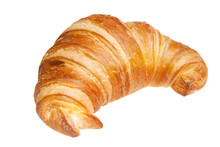 Croissant Isolated Isolated On...