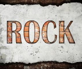 Fototapeta Taniec / Balet Grunge rock music poster