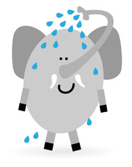 Obraz na Szkle Słoń Elefant