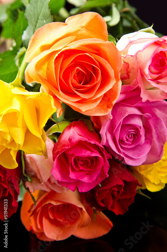bouquet rose - 51941333