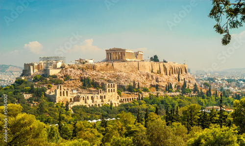 Acropolis of Athens Wallpaper Mural