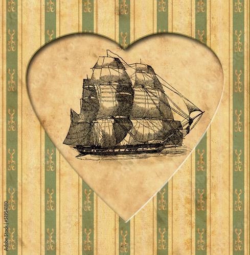 vintage-heart-zeglarz