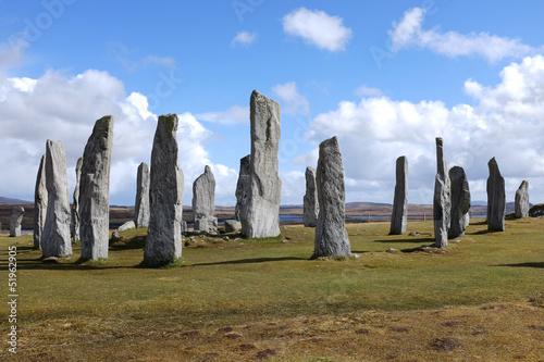 Staande foto Artistiek mon. Callanish standing stones.