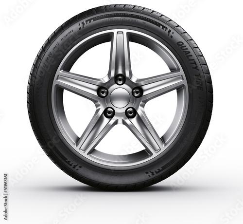 Fotografiet  Car tire