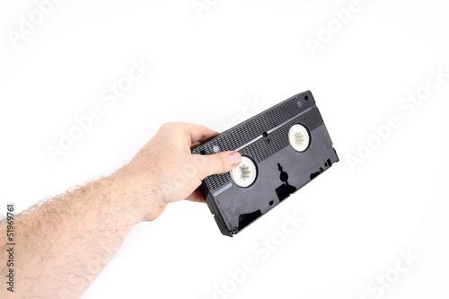 Fotografia, Obraz  videotape (video cassette)