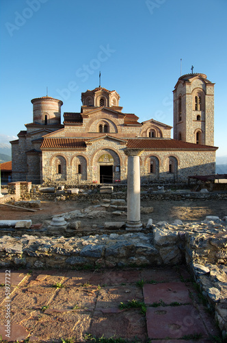 Fényképezés  Saint Panteleimon Church In Ohrid, Republic Of Macedonia