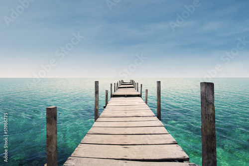 Foto op Canvas Australië The way to paradise island
