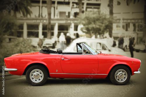 Deurstickers Oude auto s Fiat vintage car