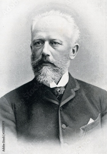 Cuadros en Lienzo  Russian composer Pyotr Ilyich Tchaikovsky