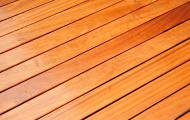 Suelo de madera de teka