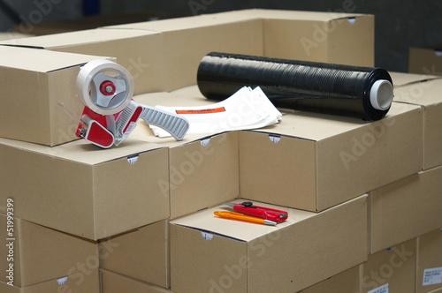 Fotografía  préparation de commande