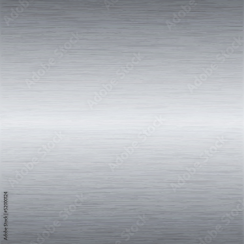 Papiers peints Metal Metal background or texture of brushed steel plate