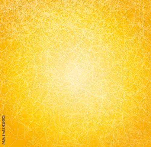 Poster Maroc Vector illustration with yellow abstract background.