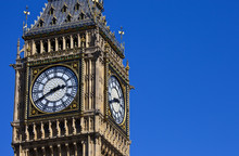 The Clock-Face Of Big Ben In L...