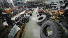 Agricultural Warehouse Of Spare Parts