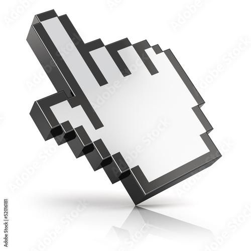 Foto op Aluminium Pixel Link selection cursor