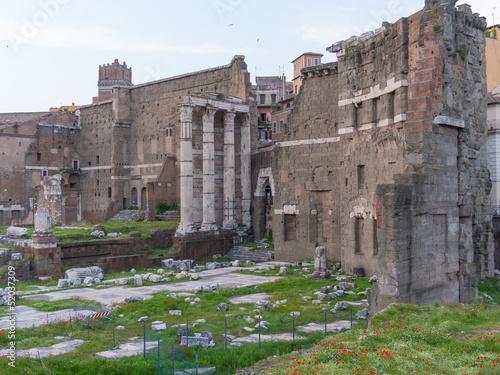 Fotografie, Obraz  Roma, il Foro di Augusto (part.)