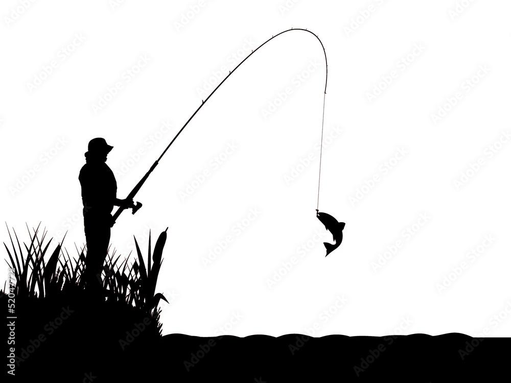 Fototapeta Balık avı