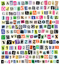 Vector Ransom Note- Cut Paper ...