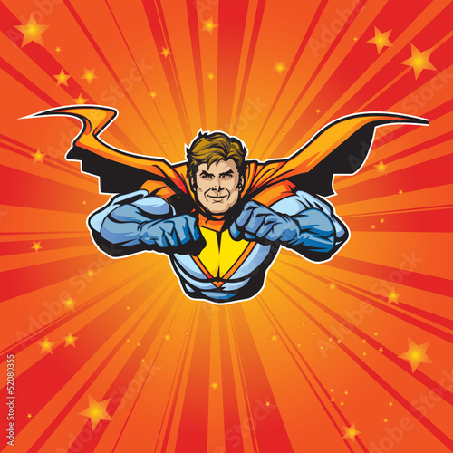 Poster Superheroes Hero 7