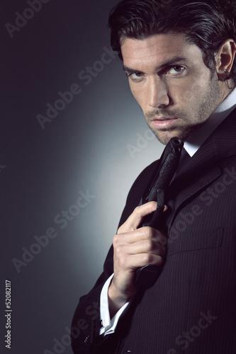 Fotografía  Portrait of an handsome spy