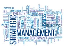 STRATEGIC MANAGEMENT Tag Cloud (strategy Business Lean Process)