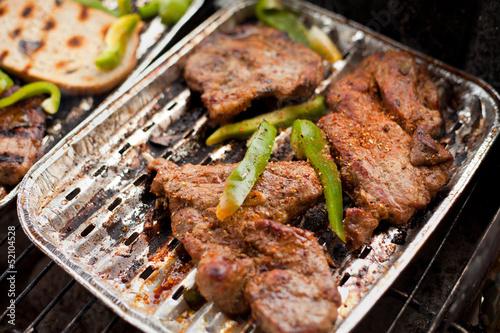 Fototapeta karkówka grill barbecue obraz