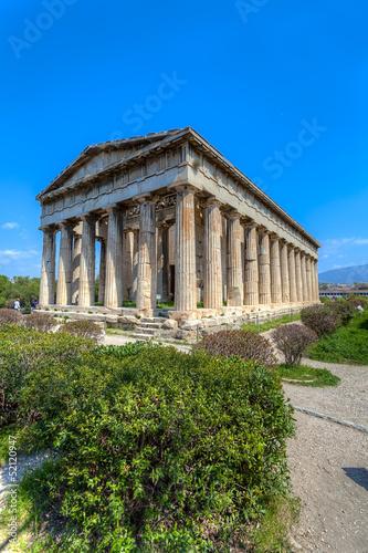 Temple of Hephaestus,Athens,Greece Canvas Print