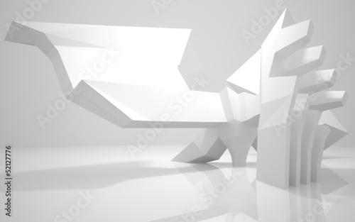 Zdjęcie XXL Streszczenie Architecture.Concep t nowoczesnego budynku