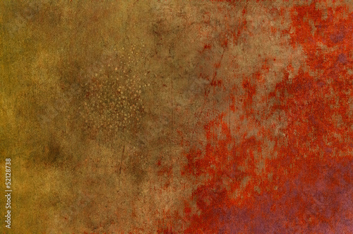 Fotografia  Rusty and bloody texture