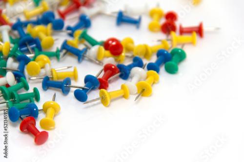 Fotografie, Obraz  Push pins
