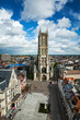 canvas print picture - Saint Bavo Cathedral. Ghent, Belgium