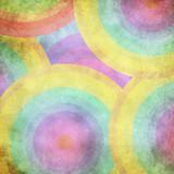 Multicolor grunge background. A vintage poster.