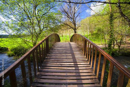 Photo  Puente de Madera