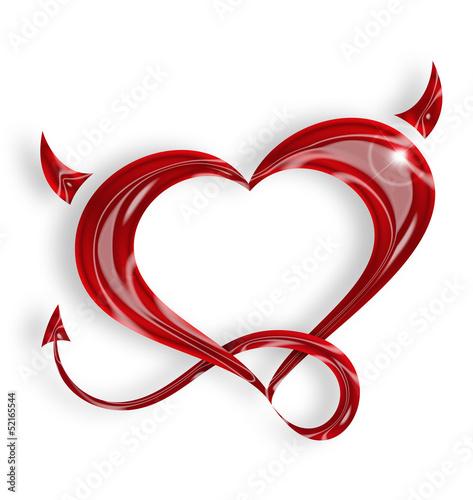 little devil heart buy this stock illustration and explore similar