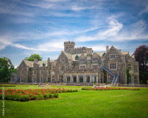 obraz PCV Historic Long Island NY gold coast mansion Hempstead House
