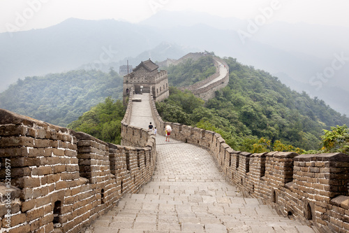 Poster Pékin great wall of china