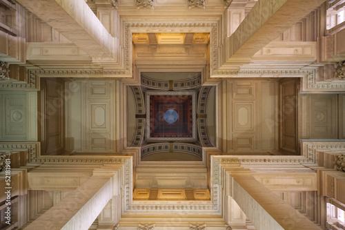 Poster Brussel Bruxelles, Belgium - April, 4 2013: Palace of Justice (Palais de